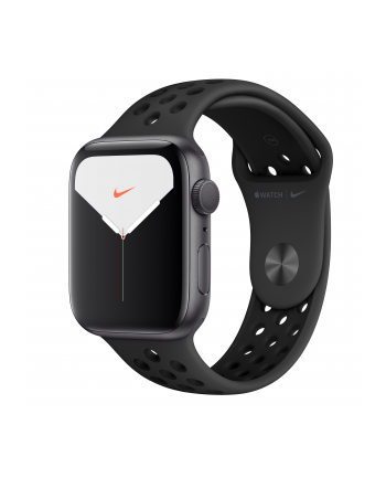Apple Watch Nike + S5 aluminum 44mm grey - Sports Wristband anthracite / black MX3W2FD / A