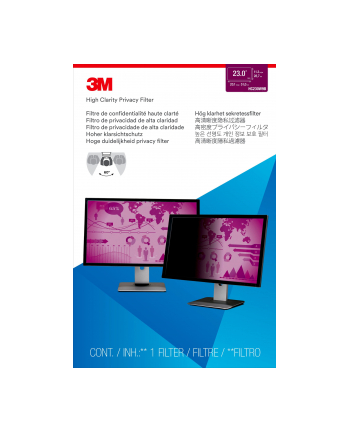 3M Privacy Filters High Clarity(23 widescreen monitor)