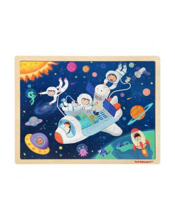 brimarex Top Bright Puzzle drewniane 48el. Kosmos 120415