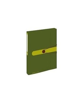 Herlitz collection box recycling, folders(dark green)