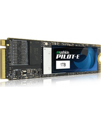 Mushkin pilot E 1TB Solid State Drive(black, PCIe Gen3 x4 NVMe 1.3, M.2 (2280))