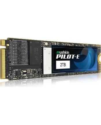 Mushkin pilot E 2 TB Solid State Drive(black, PCIe Gen3 x4 NVMe 1.3, M.2 (2280))