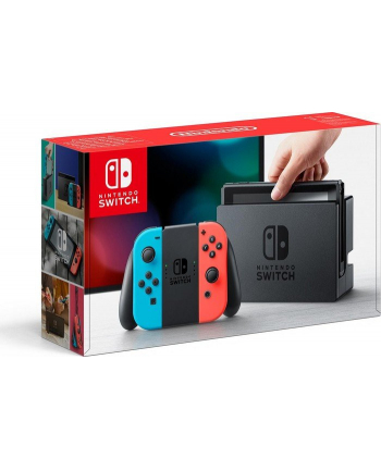 Nintendo switch, game console(neon red / neon blue, MOD. HAC-001-01)