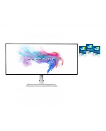 MSI Prestige PS341WU - 34 - LED (white / silver, USB-C, WUHD, Nano IPS, HDR)