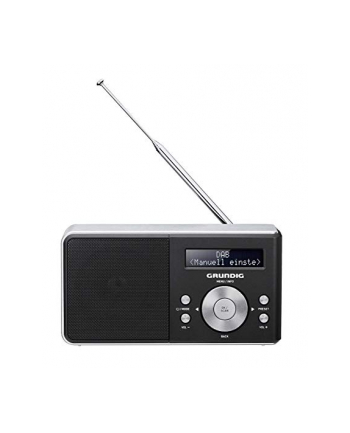 Grundig Music 5000, clock radio(black, FM, DAB +, RDS, jack)