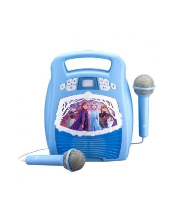 ekids Zestaw do karaoke z mikrofonem, MP3, Bluetooth + efekty świetlne Kraina Lodu 2