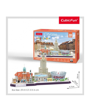 dante Puzzle 3D Warszawa Cityline 20271