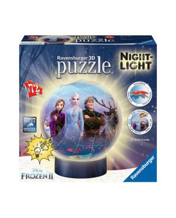 ravensburger Puzzle kuliste 3D 72el lampka Frozen 2 111411