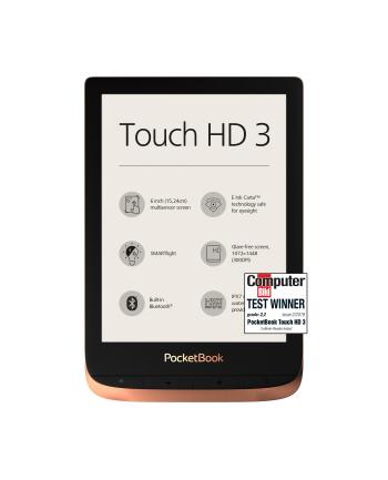 Czytnik E-book POCKETBOOK PB 632 Touch HD 3 PB632-K-WW (6 )