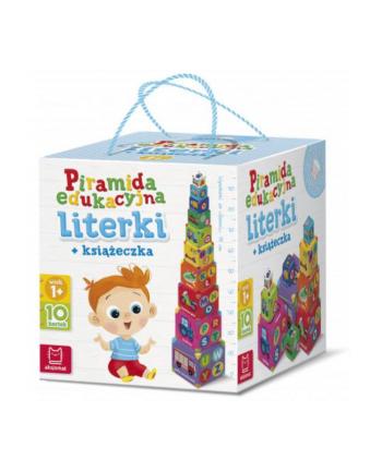 aksjomat Książka Piramida edukacyjna. Literki + książeczka