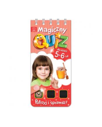 aksjomat Książka Magiczny quiz dla dzieci 5-6 lat. Czerwony