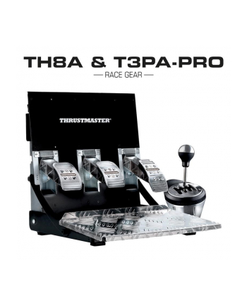 Thrustmaster Zestaw Skrzynia TH8A + Pedaly T3PA Pro / PC Xbox PS3 PS4