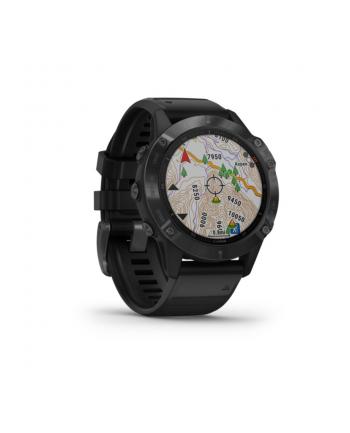 Zegarek sportowy Garmin Fenix 6 Pro 010-02158-02 (kolor czarny)