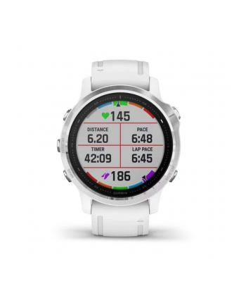 Zegarek sportowy Garmin Fenix 6 010-02159-00 (kolor biały)