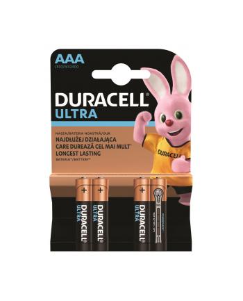 Zestaw baterii alkaliczne Duracell Ultra Power AAA/LR03 (Alkaliczny manganowy; x 4)