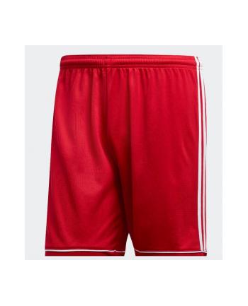 Spodenki piłkarska Adidas adidas Squadra 17 M (M; Poliester; kolor czerwony)