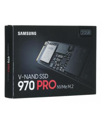 samsung electronics polska Dysk Samsung 970 PRO MZ-V7P512BW (512 GB ; M2; PCI Express 30 x 4)
