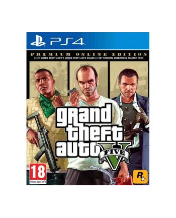 cenega publishing Gra GTA V PREMIUM EDITION (wersja BOX; Blu-ray; ENG; od 18 lat)