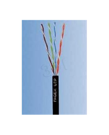 Kabel drut UTP Madex ( kat5e 100m czarny  zewnętrzny   PE )