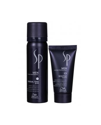 wella Pianka  Szampon SP Men Gradual Tone Black (Dla mężczyzn; 90 ml)
