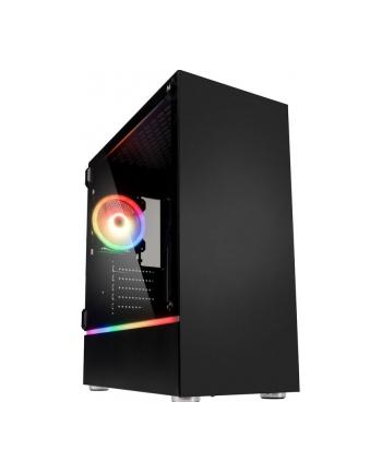 Obudowa KOLINK BASTION RGB BASTION RGB (ATX  Mini ATX  Mini ITX; kolor czarny)