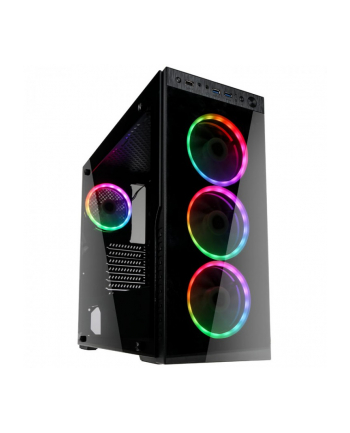 Obudowa KOLINK HORIZON RGB HORIZON RGB (ATX  Micro ATX  Mini ITX; kolor czarny)