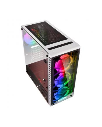 Obudowa KOLINK OBSERVATORY RGB OBSERVATORY RGB WHITE (ATX  Extended ATX  Micro ATX  Mini ITX; kolor biały)