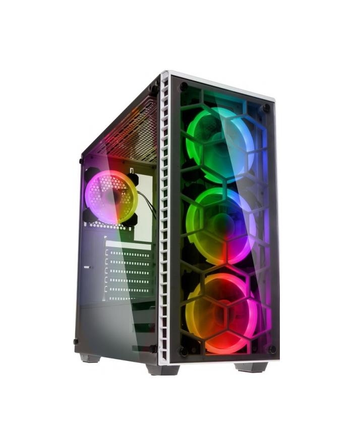 Obudowa KOLINK OBSERVATORY RGB OBSERVATORY RGB WHITE (ATX  Extended ATX  Micro ATX  Mini ITX; kolor biały) główny