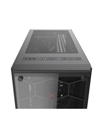 Obudowa KRUX Leda KRX0007 (ATX  Extended ATX  Mini ATX  Mini ITX; kolor czarny)