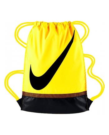 Worek sportowa Nike Nike Brasilia Gymsack BA5424-731 (450mm x 350mm? ; 1 komora / 1 kieszeń; Poliester; kolor żółty)