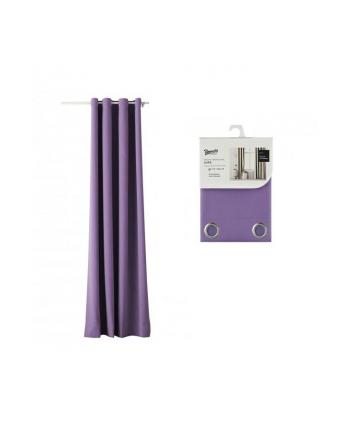 Zasłona Room99 ROM1285 (140 x 250 cm; kolor fioletowy)