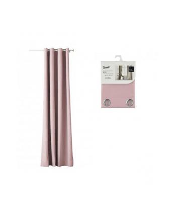 Zasłona Room99 AURA (140 x 250 cm; kolor różowy)
