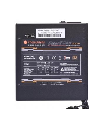 Zasilacz Thermaltake Smart SE2 500W PS-SPS-0500MNSAWE-1 (500 W; Aktywne; 120 mm)