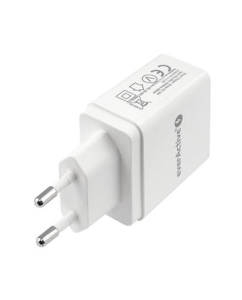 Ładowarka sieciowa everActive SC-300 (USB; kolor biały)