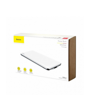 Power Bank Baseus PPALL-QB02 (10000mAh; Lightning  USB  USB-C; kolor biały)