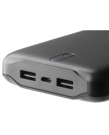 Power Bank everActive EB-20k (20000mAh; microUSB  USB 20 x2; kolor czarny)