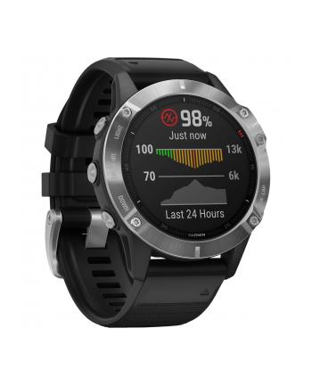 Zegarek sportowy Garmin Fenix 6 010-02158-00 (kolor srebrny)