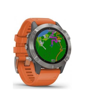Zegarek sportowy Garmin Fenix 6 010-02158-14 (kolor szary)
