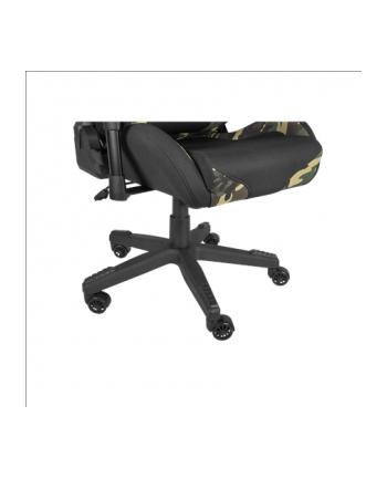 Fotel gamingowy NATEC Genesis Nitro 560 Camo NFG-1532 (kolor czarno-zielony)