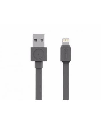 Kabel allocacoc USBcable Lightning Flat 10451GY/LGHTBC (USB 20 typu A - Lightning ; kolor szary)