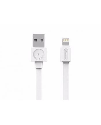 Kabel allocacoc USBcable Lightning Flat 10451WT/LGHTBC (USB 20 typu A - Lightning ; kolor biały)
