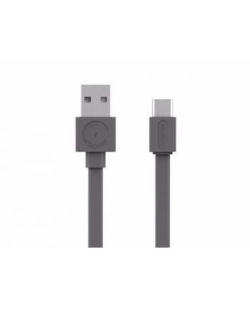 Kabel allocacoc USBcable Usb-C Flat 10453GY/USBCBC (USB 20 typu A - Lightning ; kolor szary)