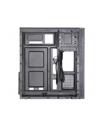 Obudowa Akyga AK34BK (ATX  Flex ATX  Micro ATX  Mini ITX; kolor czarny)