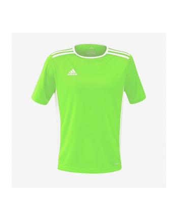 Koszulka chłopięca Adidas adidas Entrada 18 JR limonkowa CE9758 CE9758 (dziecięca; 140; kolor zielony)