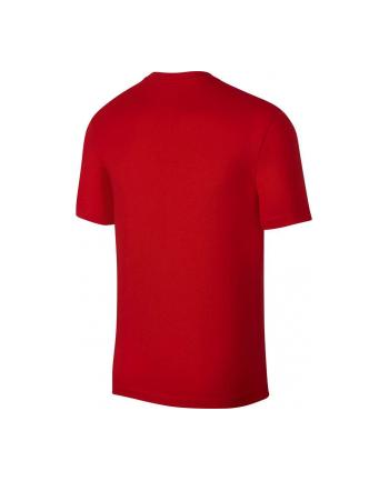 Koszulka męskie Nike Koszulka męska Nike Tee AR5006 (męskie; L; kolor czerwony)