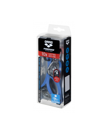 Okularki Arena Cobra Ultra Swipe Mr (kolor niebieski)