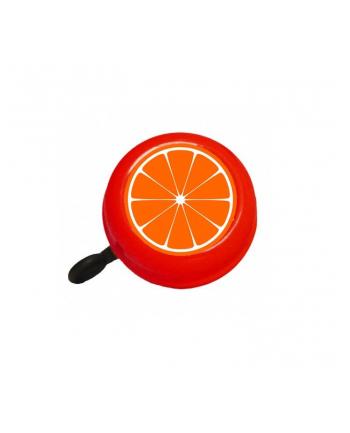 Czerwony dzwonek rowerowy Bike Belle CITRUS