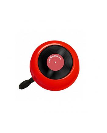 Czerwony dzwonek rowerowy Bike Belle VINYL