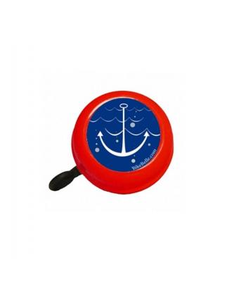 Czerwony dzwonek rowerowy Bike Belle  Sailor