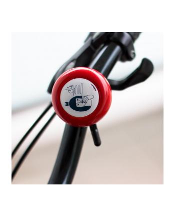 Dzwonek Rowerowy Bike Belle Medicine Czerwony